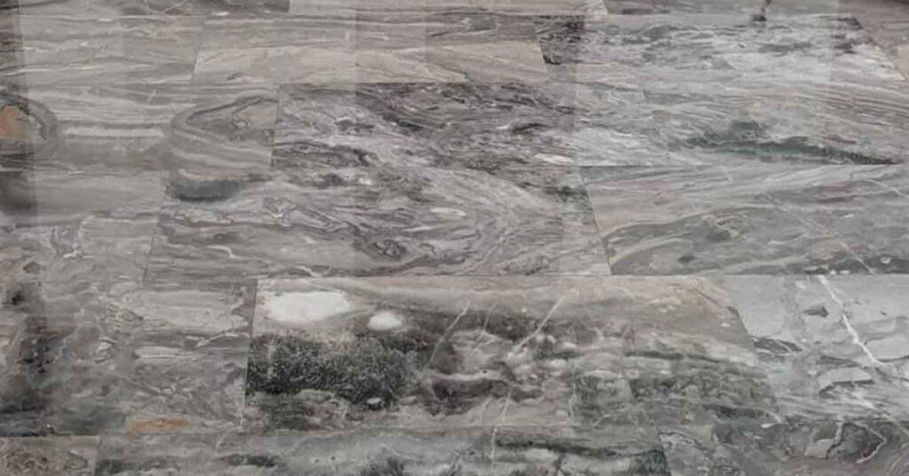 Levigatura lucidatura pavimento in marmo